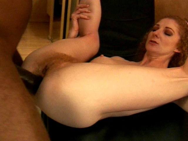Redhead Hairy Pussy Diva Serves a Good Fuck